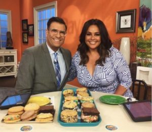Daytime TV Show on NBC Channel 8 highlights Sweet Stack Shack