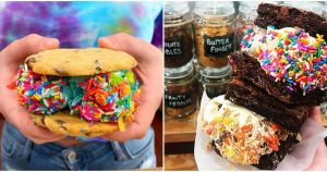 You Can Indulge Your Sweet Tooth With These Tasty Custom Ice Cream Sandwiches (Narcity)